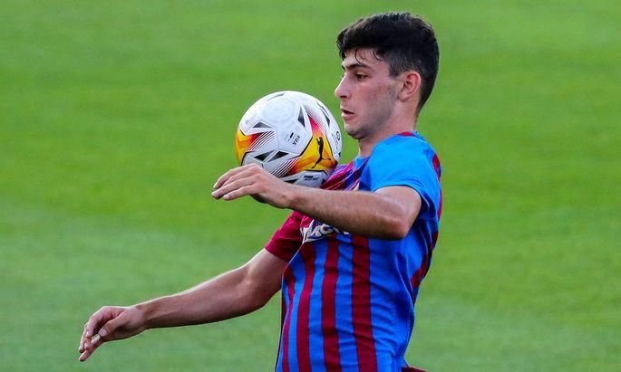 SOCCER - Barcelona vs Tarragona, test match