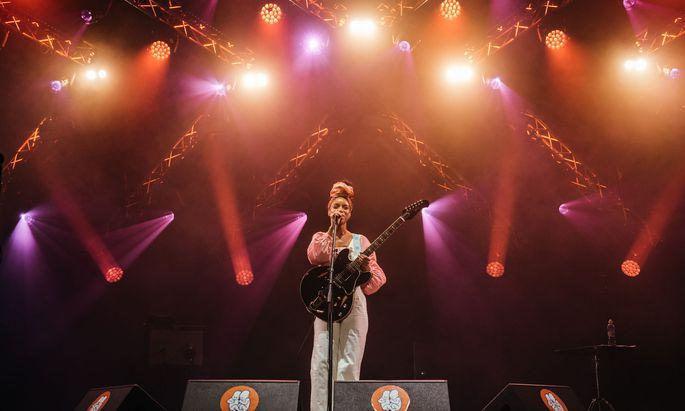 Bittersüß: Lianne La Havas bei ihrem Auftritt beim Pohoda-Festival in der Slowakei.