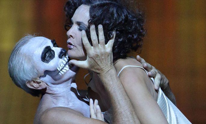 Faszinierend: Marlis Petersen als Salome in München.