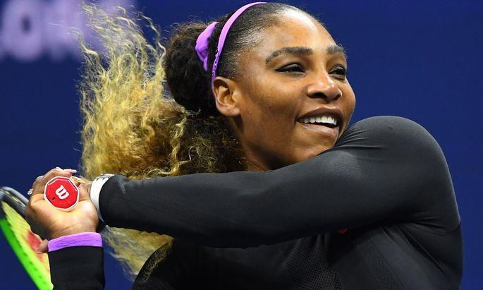 Mit einem Lächeln zum Sieg: Serena Williams fertigte Maria Scharapowa ab.