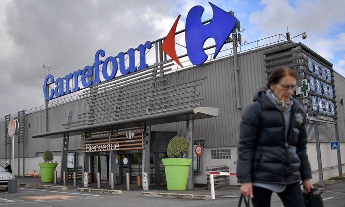 Carrefour betreibt allein in Europa 2800 Supermärkte sowie gut 700 großflächigere Einkaufsmärkte