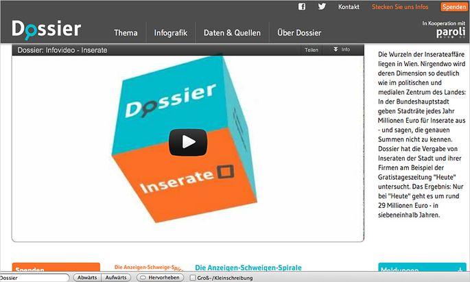 Investigativ Plattform Dossier