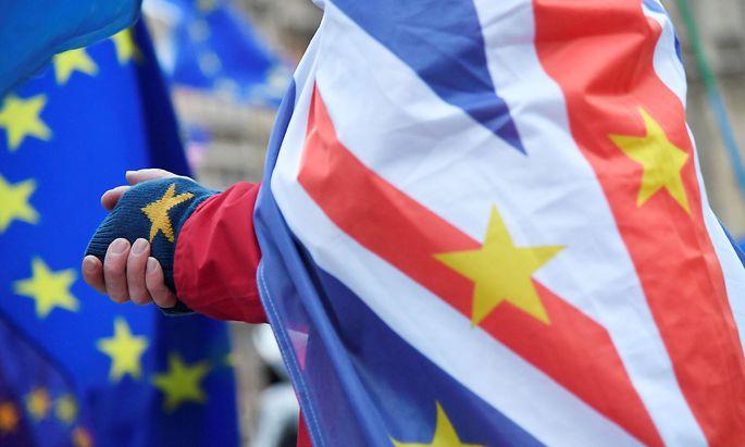 Demonstrationen begleiten den Brexit
