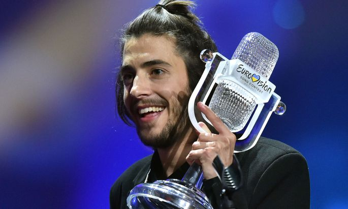 Jazzsängers Salvador Sobral gewann den Song Contest