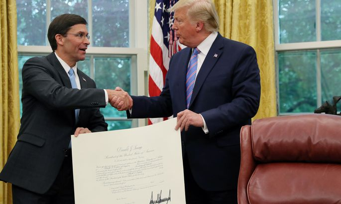 Mark Esper ist neuer US-Verteidigungsminister.