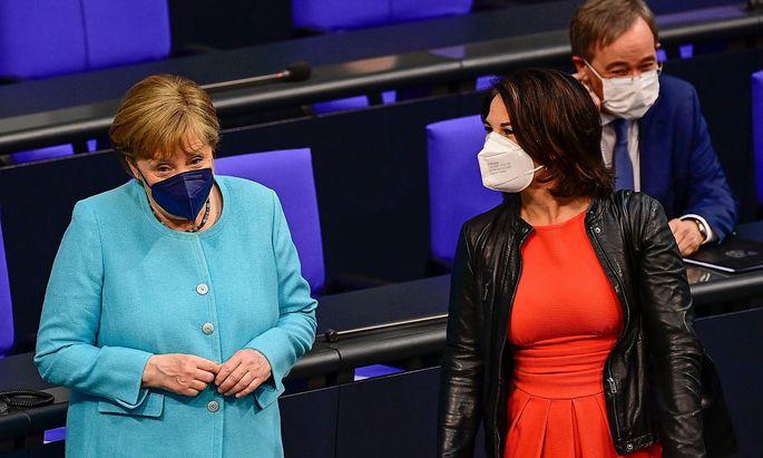 """Das """"Schicksal"""" der deutschen Kanzlerkandidatin der Grünen, Annalena Baerbock, mag als Beispiel dienen."""