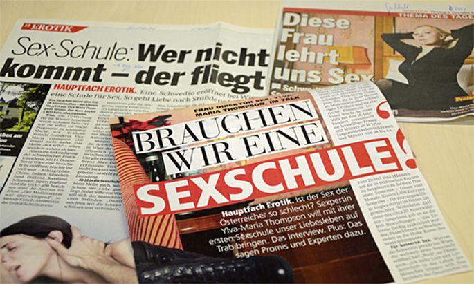 Getaeuscht Wiener SexSchule eine