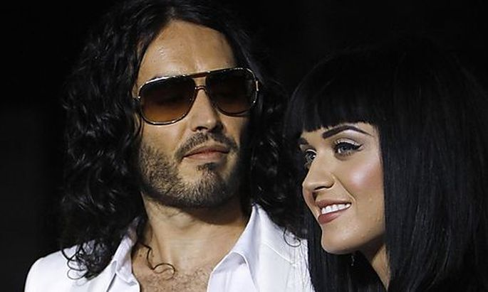 Russell Brand und Katy Perry