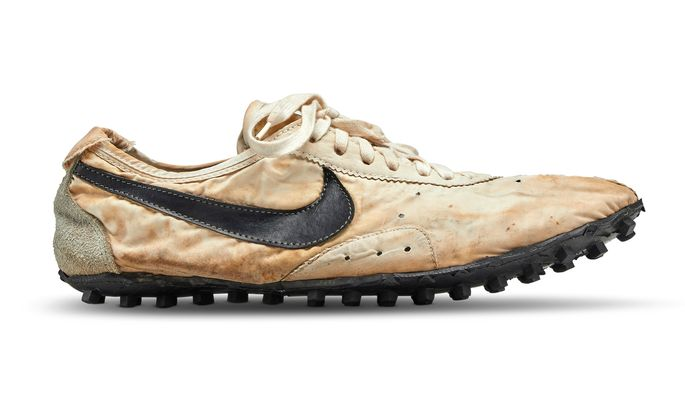 "Der Nike ""Moon Shoe""."
