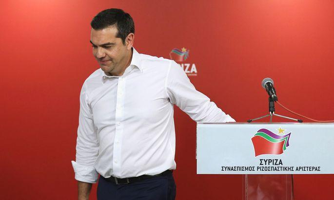 Ministerpräsident Alexis Tsipras.
