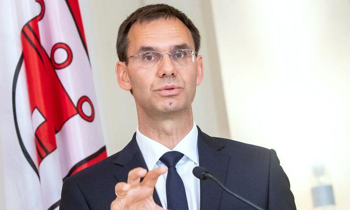 """Markus Wallner (ÖVP) wäre ein kontrollierter Club lieber als """"Chaos an der Pipeline"""". (Archivbid)"""