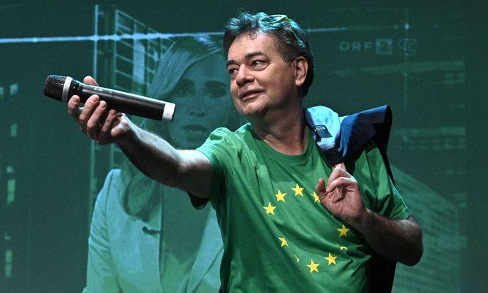 Parteichef der Grünen: Werner Kogler.