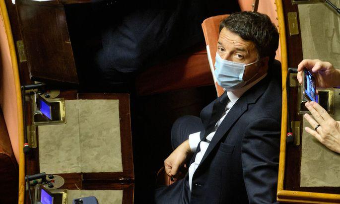 Rebell der Regierung: Ex-Premier Matteo Renzi hofft auf ein Comeback.