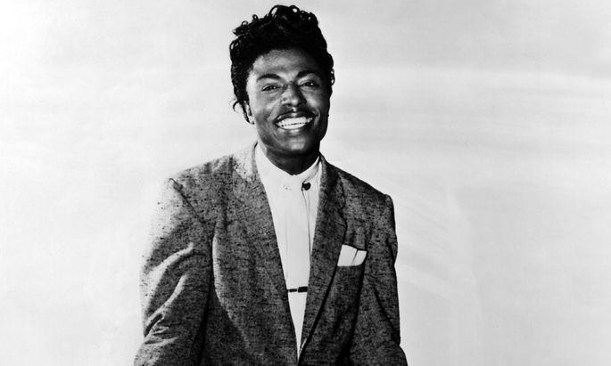 """Little Richard 1956, zur Entstehungszeit seiner größten Hits – wie """"Tutti Frutti"""" oder """"Long Tall Sally""""."""