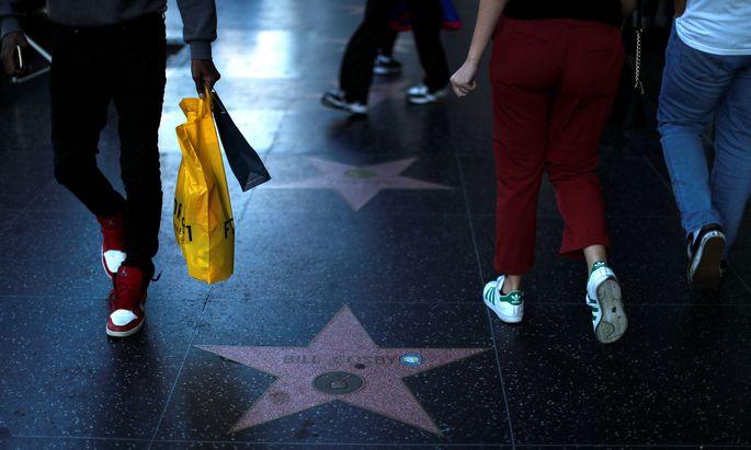 Bill Cosbys Stern am Walk of Fame