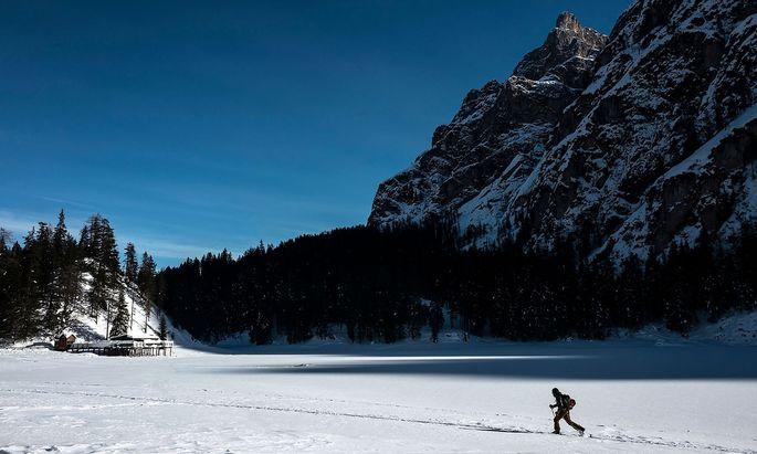 In Südtirol war trotz hoher Zahlen bis vor kurzem noch vieles offen, die Skipisten durften allerdings nicht öffnen.