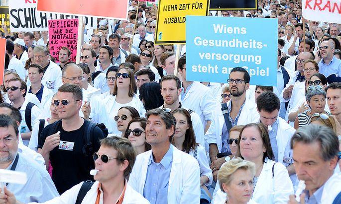 Ärzte streiken am 14. Dezember