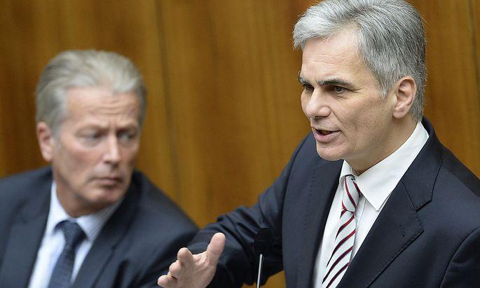 Regierung legt Nationalrat Steuerpläne vor