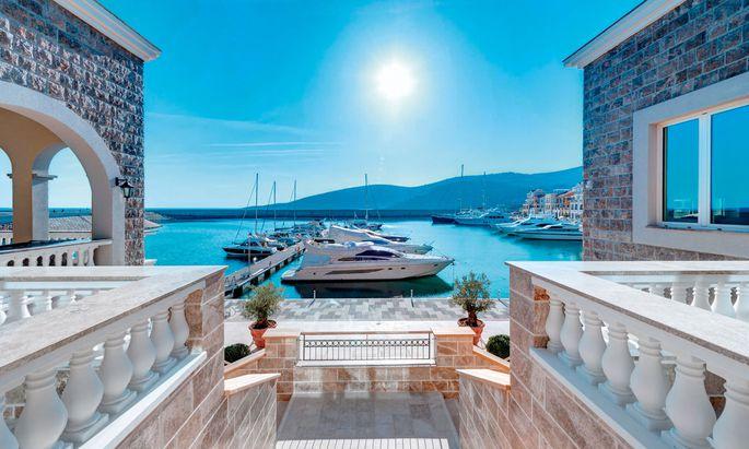 Ahoi. Montenegro ist ein neuer Hotspot, hier das Projekt Luštica Bay in Tivat.