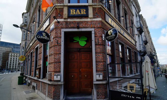 Pub in Brüssel
