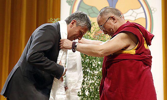 Michael Spindelegger, Dalai Lama