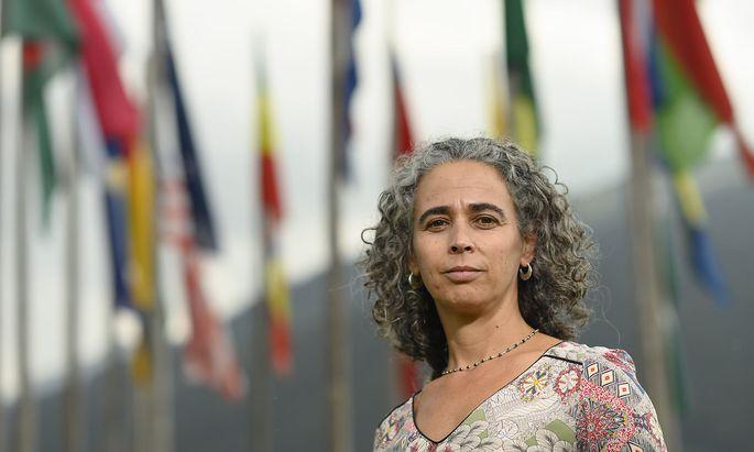 Micaela Serafini beim Europäischen Forum in Alpbach