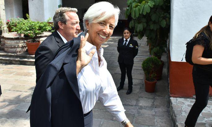 EZB-Chefin Christine Lagard.