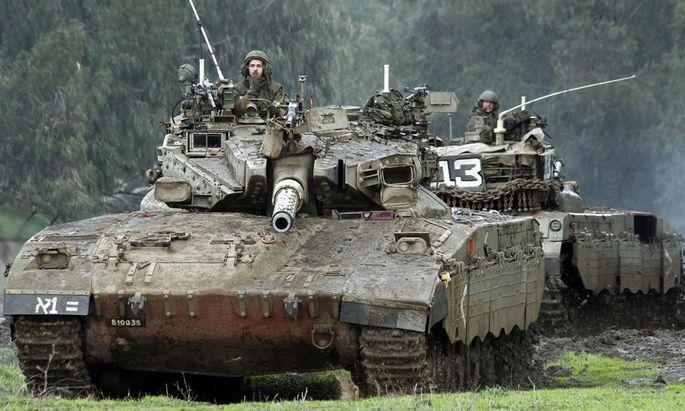 GolanHoehen Israel erwidert Beschuss