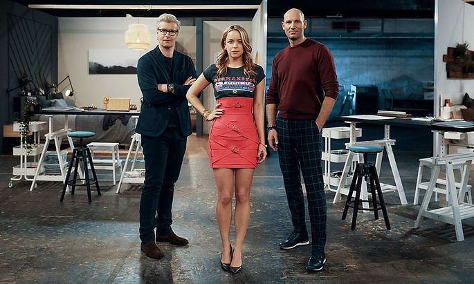 Thomas Feichtner, Marina Hörmanseder und Ikea Chef-Designer Erik-Jan Middelhoven