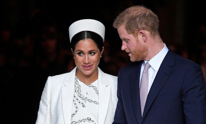Herzogin Meghan und Prinz Harry: Die Geburt ihres Kindes soll eine intime Angelegenheit werden.