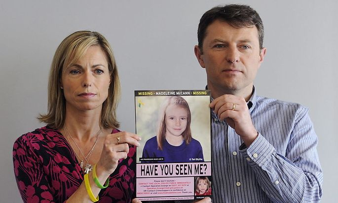 FILE BRITAIN PORTUGAL MADELEINE MCCANN