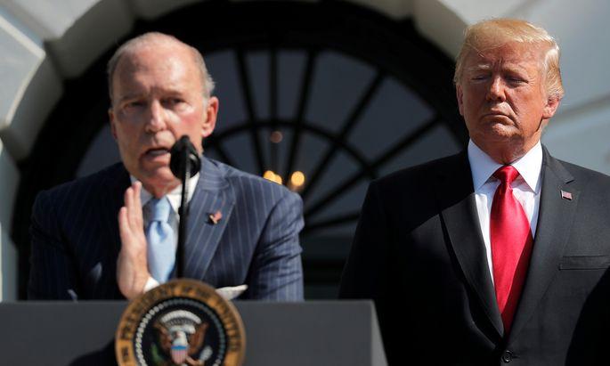 Larry Kudlow, Wirtschaftsberater des Weißen Hauses, sieht beide Seiten als Verlierer.