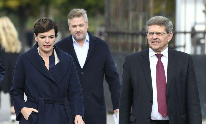 Die SPÖ-Zentrale ist in der Defensive.