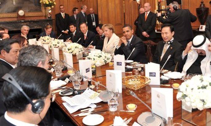 Der G20-Gipfel startet am Donnerstag