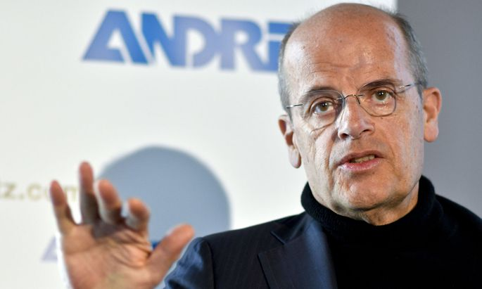 Andritz-Chef Wolfgang Leitner