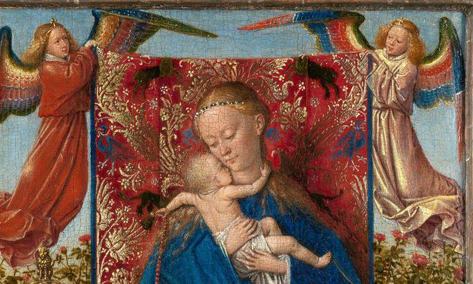 """Kostbare Leihgabe: """"Madonna am Brunnen"""" aus Antwerpen."""