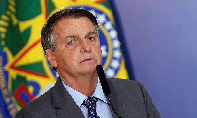Interne Ermittlung gegen Brasiliens Präsident Jair Bolsonaro.