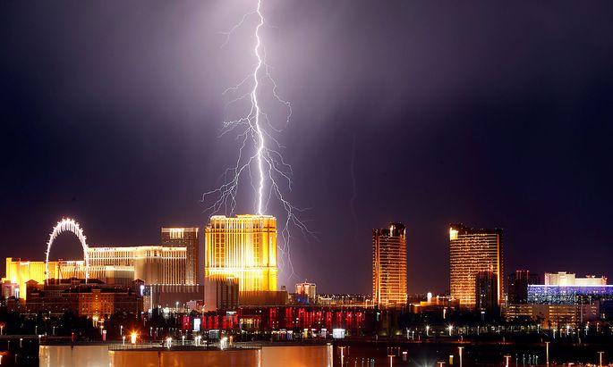 Archivbild von Las Vegas.