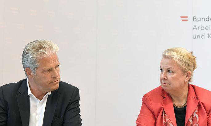 """Es habe """"einiger Mühen bedurft"""", um die Einsparungsvorgaben von Sozialministerin Beate Hartinger-Klein zu erfüllen, gestand AUVA-Obmann Anton Ofner am Montag."""