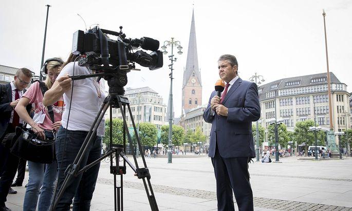 Der deutsche Außnminister Sigmar Gabriel ist mit dem G20-Gipfel nicht zufrieden.