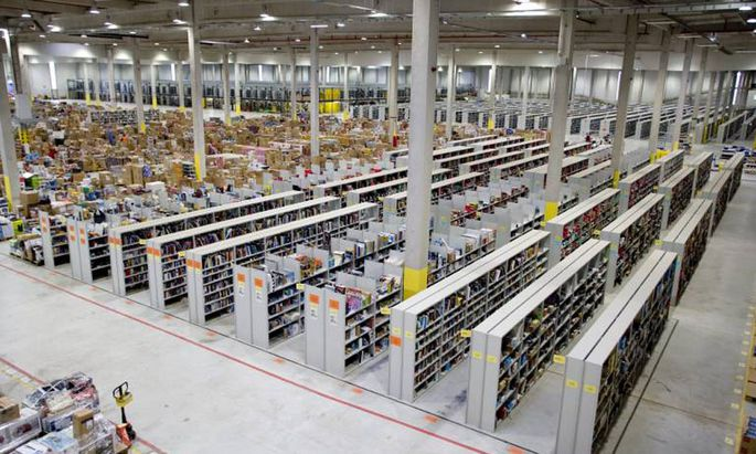 Amazon kuendigt neue Logistikzentren