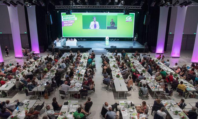 Bundeskongresses der Grünen am Sonntag, 25. Juni 2017