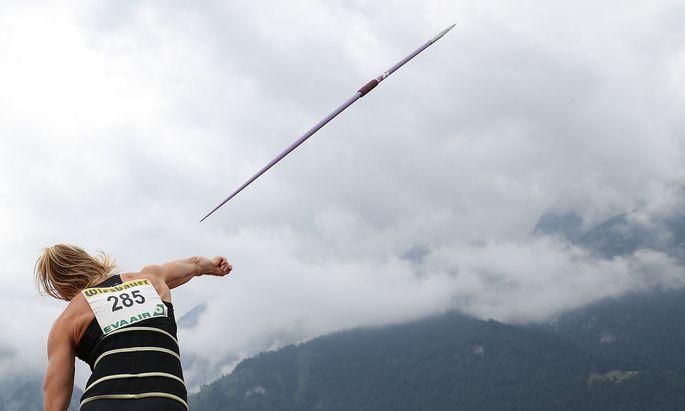 Verena Preiner Ende Juli in Innsbruck