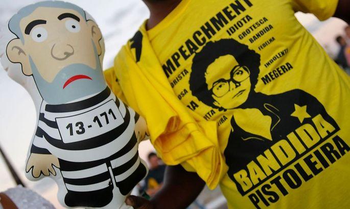 Proteste gegen Dilma Rousseff