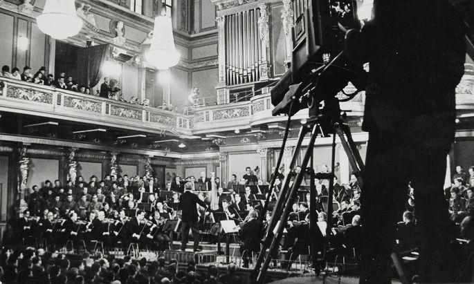 """Ein """"Hauch"""" der rhythmischen Brillanz eines Clemens Krauss: Neujahrskonzert 1968 unterWilli Boskovsky."""