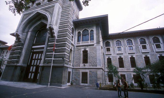 Archivbild: Das Elite-Gymnasium Istanbul Lisesi
