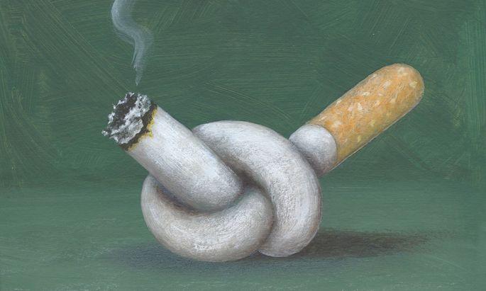 21 Prozent der Raucher möchten ihre Sucht beenden.