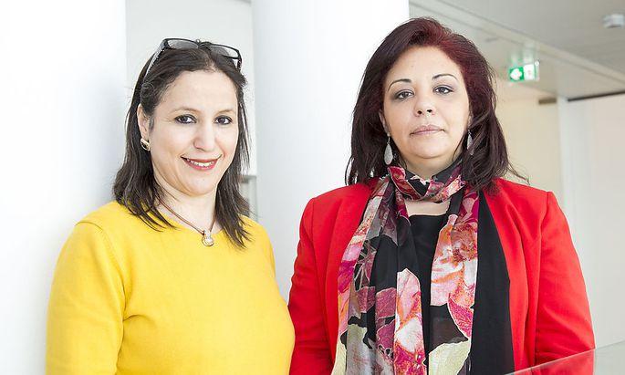 Saliha Ben Ali (rechts) kämpft gegen die Radikalisierung Jugendlicher.
