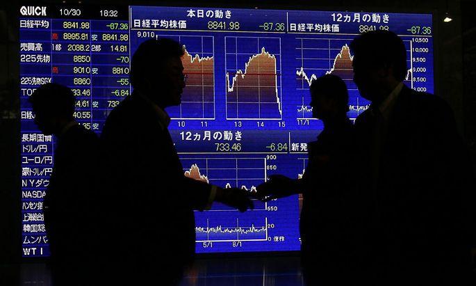 Jahresbilanz BillionenUmsaetze Schattenbanken
