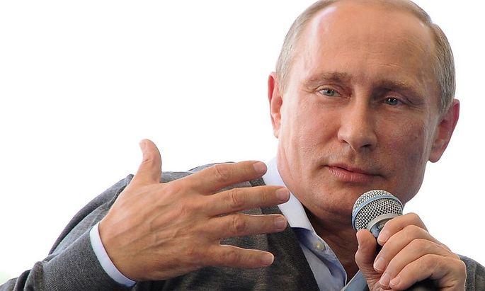 Russlands Präsident Putin fühlt sich derzeit in der Rolle des Siegers